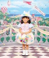 子供写真館、スタジオアリスの誕生日記念写真2