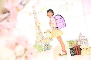 子供写真館、フォトスタジオ・フルリの入学入園記念写真5