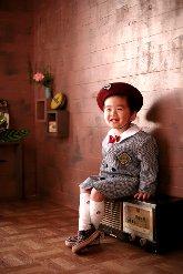 子供写真館、藤代工房の入学入園記念写真2