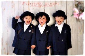 子供写真館、藤代工房の入学入園記念写真4
