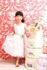 子供写真館、ハピリィフォトスタジオの誕生日記念写真1