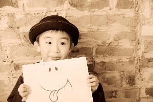 子供写真館、ラブストフォトスタジオの入園入学記念写真2