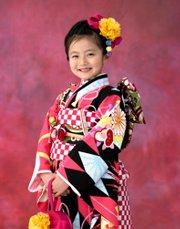 子供写真館、スタジオマリオの七五三記念写真5