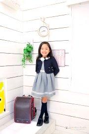 子供写真館、プレシュスタジオの入学入園記念写真1