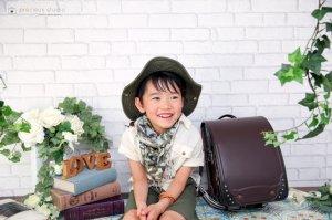 子供写真館、プレシュスタジオの入学入園記念写真5