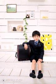 子供写真館、プレシュスタジオの入学入園記念写真6