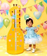 子供写真館、スタジオアリスの誕生日記念写真3