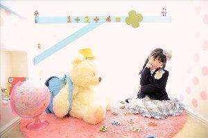 子供写真館、フォトスタジオ・フルリの入学入園記念写真4