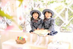 子供写真館、フォトスタジオ・フルリの入学入園記念写真6
