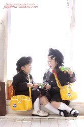 子供写真館、藤代工房の入学入園記念写真1