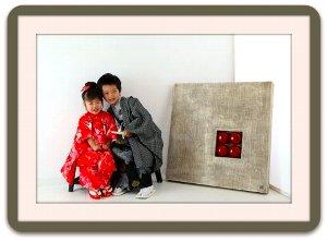 子供写真館、ライフスタジオの誕生日記念写真3