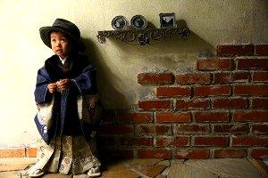 子供写真館、ライフスタジオの誕生日記念写真6