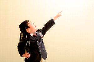 子供写真館、ラブストフォトスタジオの入園入学記念写真3
