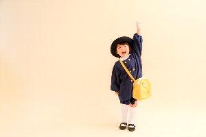 子供写真館、ラブストフォトスタジオの入園入学記念写真4