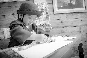 子供写真館、ラブストフォトスタジオの入園入学記念写真7