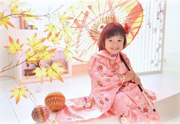 子供写真館、フルリ・フォトスタジオの七五三画像