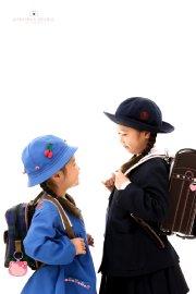 子供写真館、プレシュスタジオの入学入園記念写真4