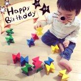 子供写真館、バンビースタジオの誕生日記念写真2
