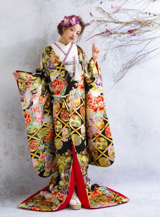 aim東京原宿店の和装写真