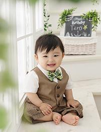 スタジオアリス 代官山アドレス・ディセ店の誕生日写真