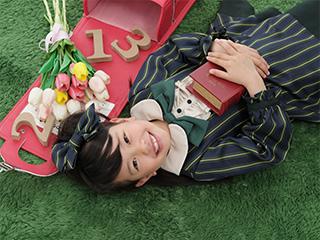 スタジオアリス 代官山アドレス・ディセ店の入学式写真