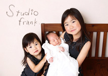スタジオフランクの宮参り写真