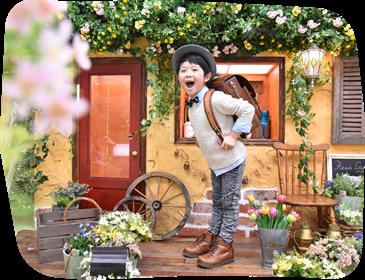 フォトスタジオ・フルリ松原・豪徳寺店の入学式写真