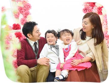 フォトスタジオ・フルリ松原・豪徳寺店の家族写真写真