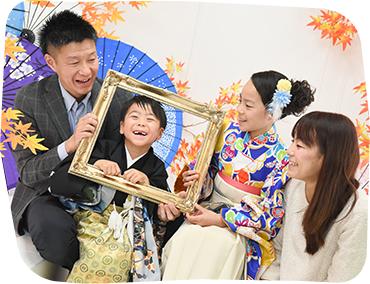 フォトスタジオ・フルリ駒沢大学店の七五三写真