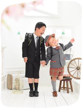 フォトスタジオ・フルリ吉祥寺・三鷹店の入学式写真