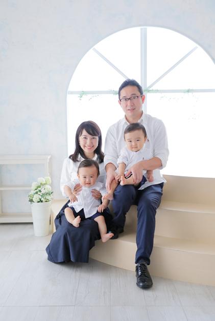 ハーツスタジオ大泉学園店の家族写真写真