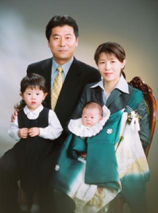 伊勢丹写真室新宿店のお宮参り写真