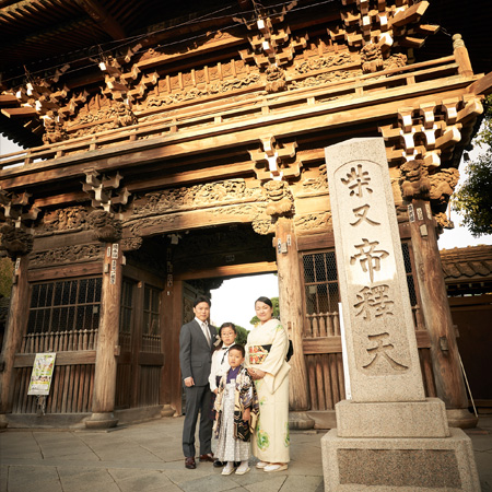 Kinemato(キネマトフォトスタジオ)の家族写真写真