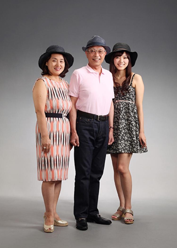 吉祥寺第一ホテル写真室 写真光陽の家族写真写真