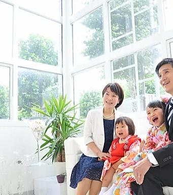 リーベルミーフォトスタジオ東京中野の家族写真写真