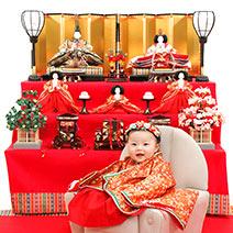 スタジオマリオ町田・旭町店の桃の節句写真