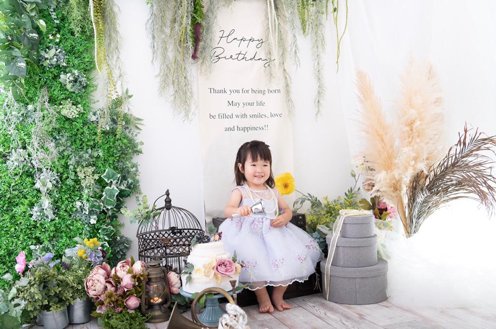 Photo Studio Nico(フォトスタジオニコ)の誕生日写真