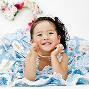 写真館ピノキオ調布店の誕生日写真